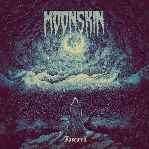 Moonskin - Farewell - Pochette Album